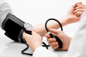 When blood pressure is at its peak